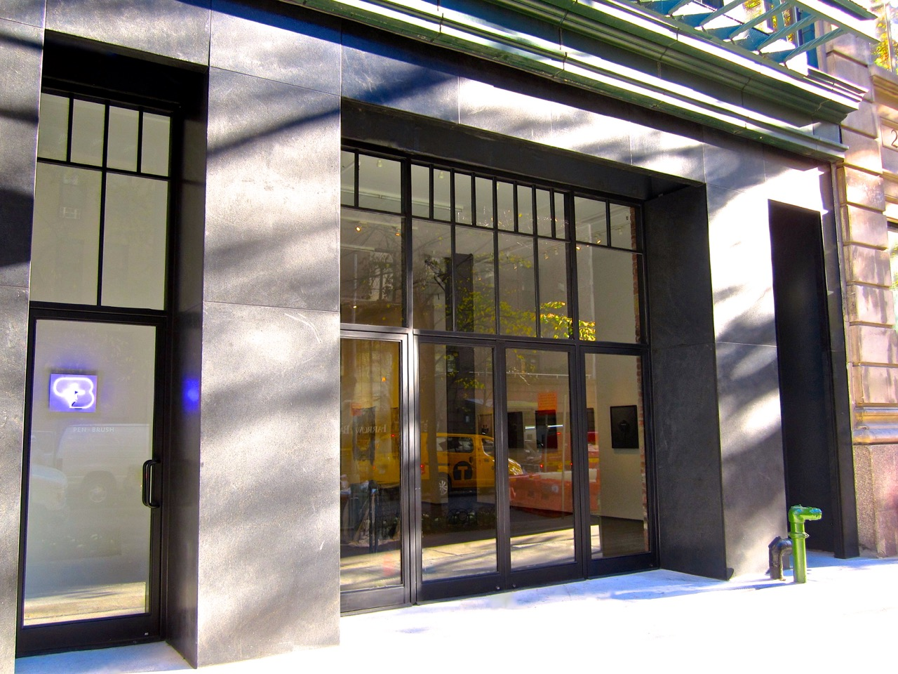 Pen Brush Art Gallery Nyc Impact Storefront Designs
