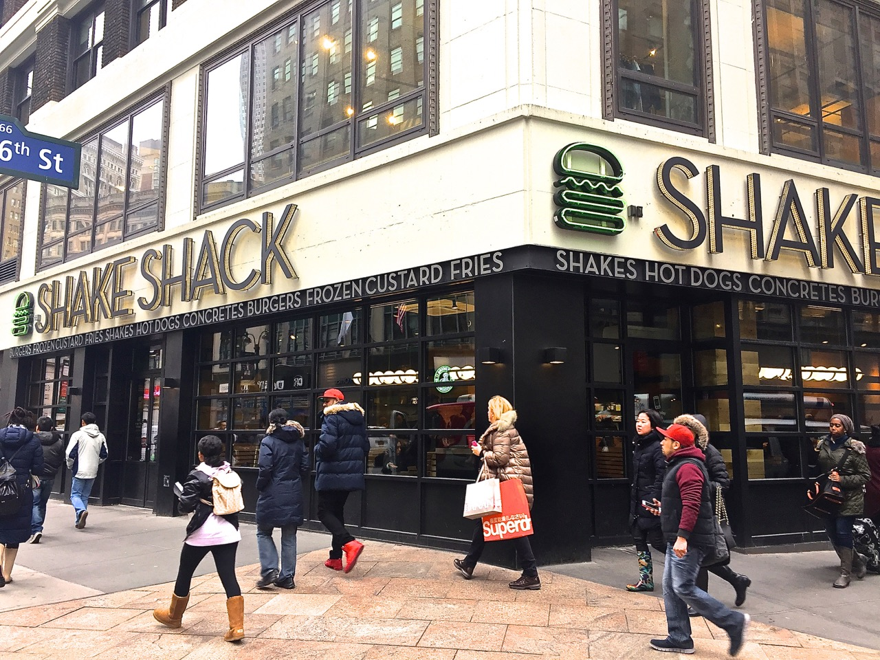 Shake Shack - Herald Square, NYC - Impact Storefront Designs